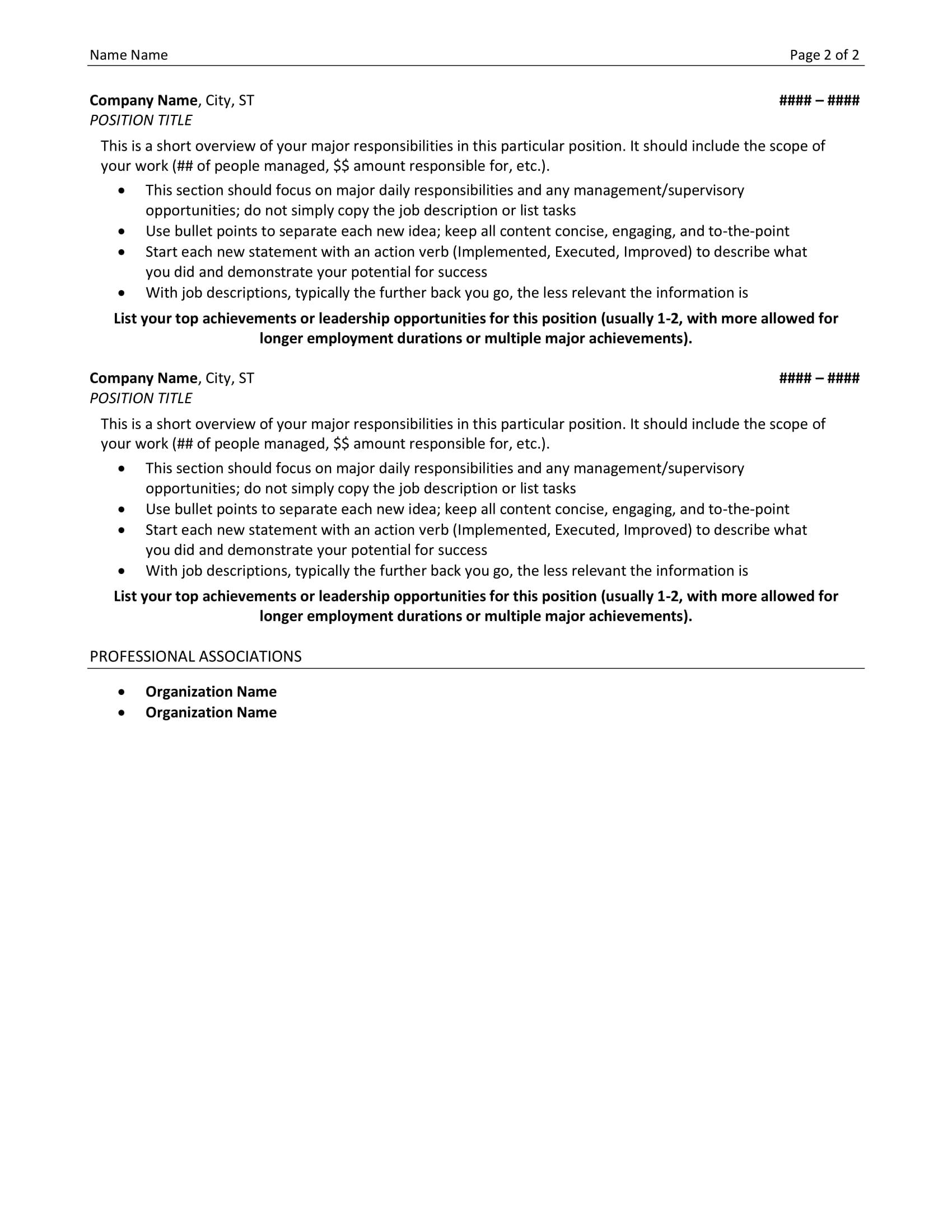 Resume Examples Resume Lezlie